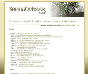 L'ancien site SophiaOutdoor